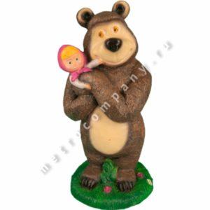 Садовая фигурка Маша и Медведь
