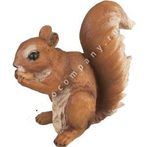 Садовая фигурка Белочка с орешками
