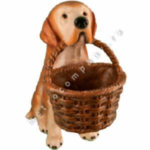 Садовая фигурка Собака лабрадор