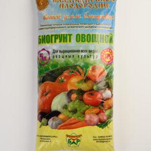 Почвогрунт овощной 5 л